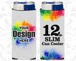 12oz Full Color Michelob Ultra Can Coolers